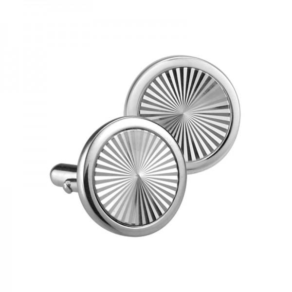 Silver Hypnosis Cufflinks