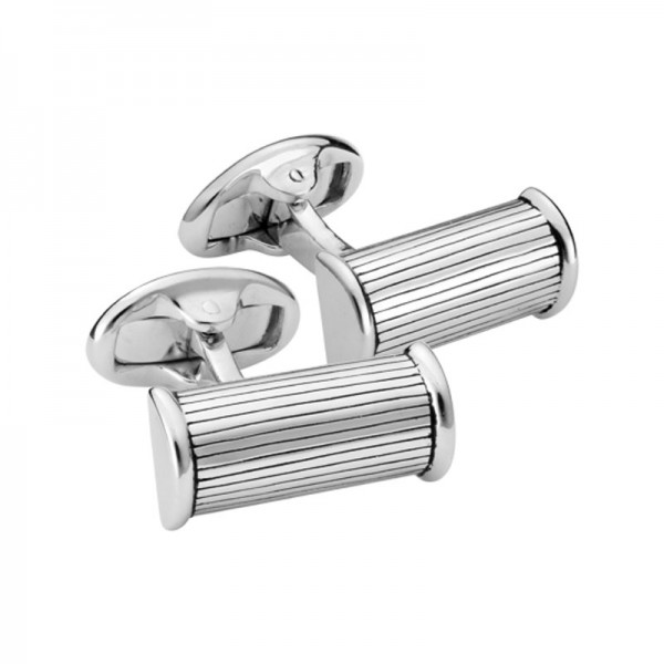 Silver Barrel Cufflinks