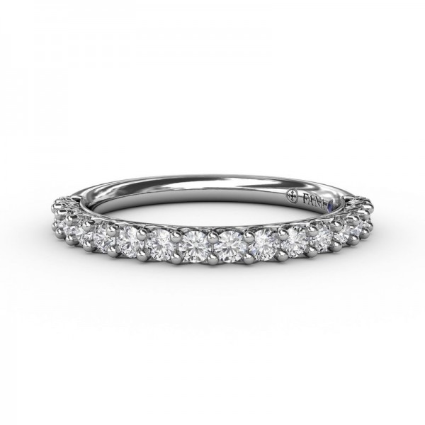 This beautiful diamond wedding band is designed to match engagement ring style S3183