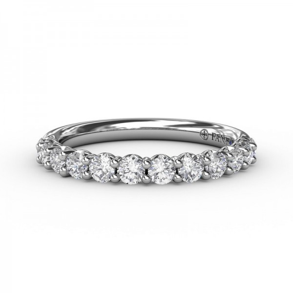 This beautiful diamond wedding band is designed to match engagement ring style S3216