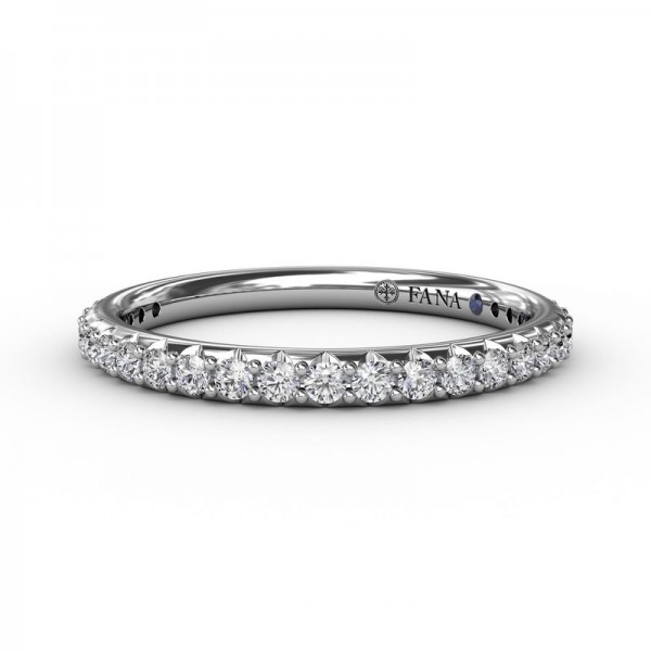 This beautiful diamond wedding band is designed to match engagement ring style S3280
