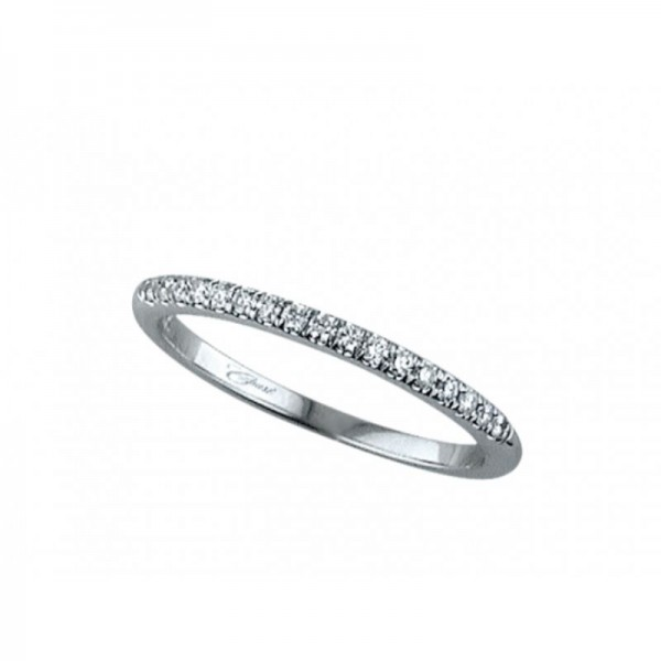 14KW Shared Prong Wedding Band