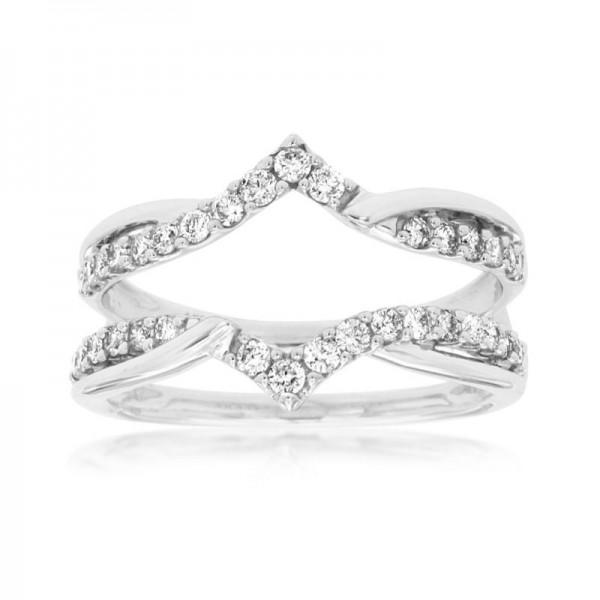 14KW Diamond Wedding Band Insert