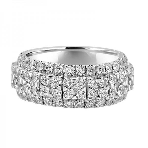 18KW Diamond Fashion Ring