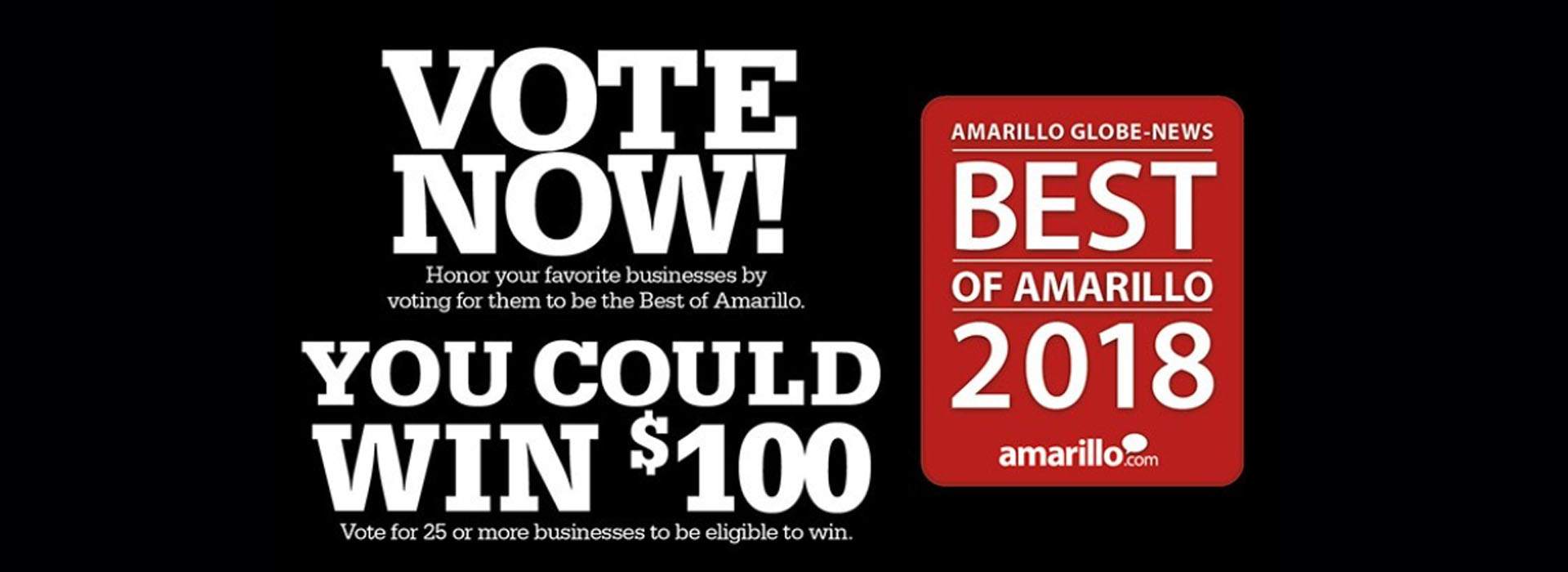 Voting for Best of Amarillo